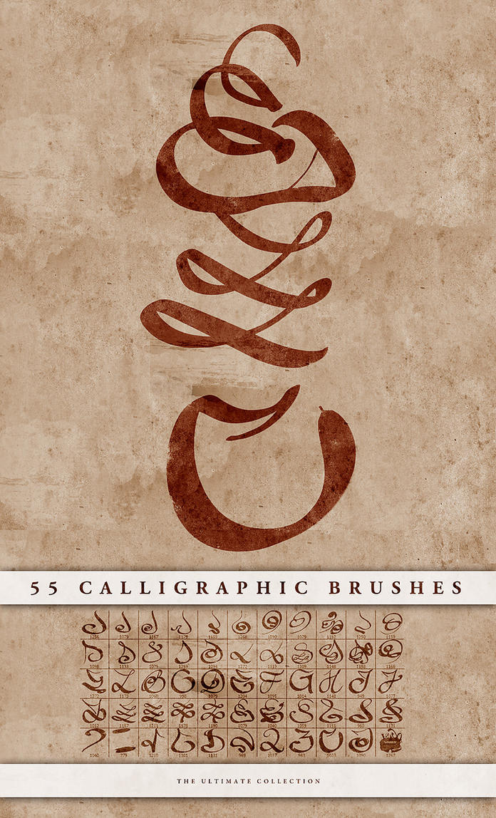 Calligraphic Brushes By Doodle Lee Doo On Deviantart