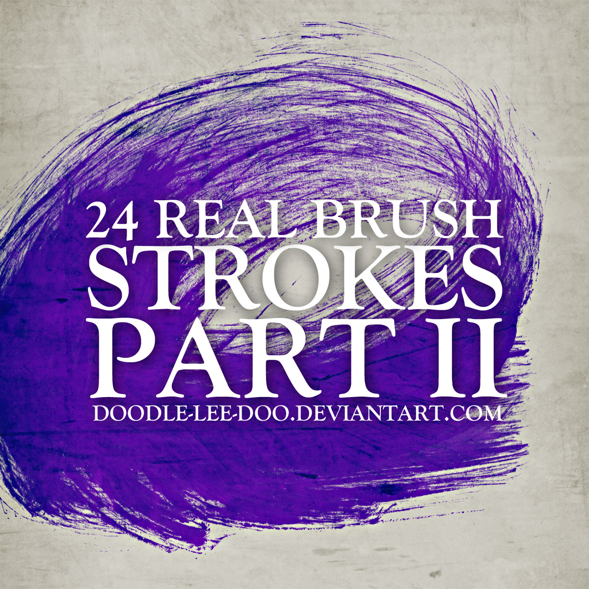 Real brush strokes part II