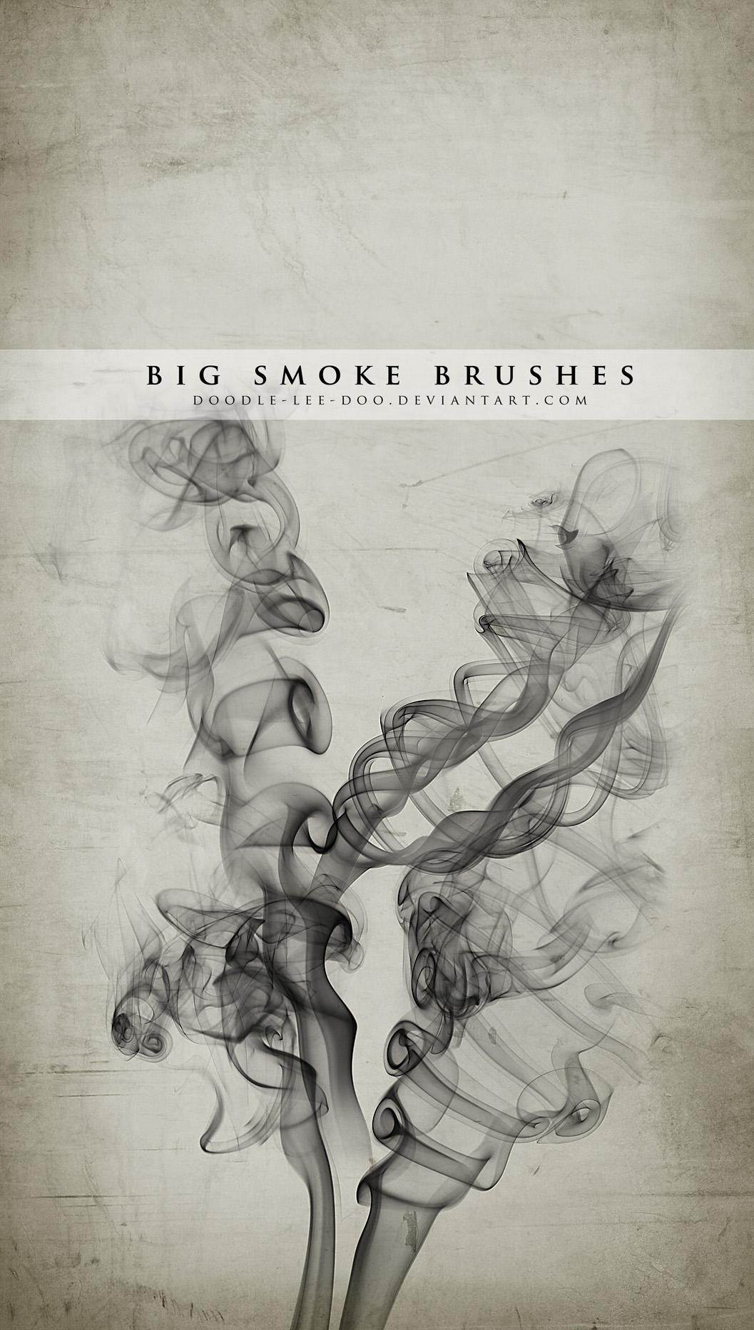 BIG smoke brushes