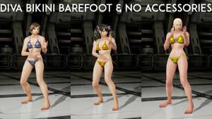 Tekken 7 Diva Bikini Barefoot and No Accessories