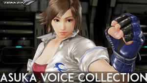 Tekken 7 Asuka Kazama Voice Collection