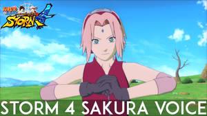 Naruto Storm 4 Sakura Haruno Voice Collection
