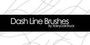 Dash Line Brushes