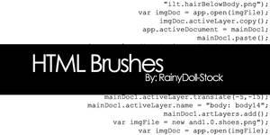 HTML Brushes