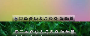SoftGlass for XWindows Dock
