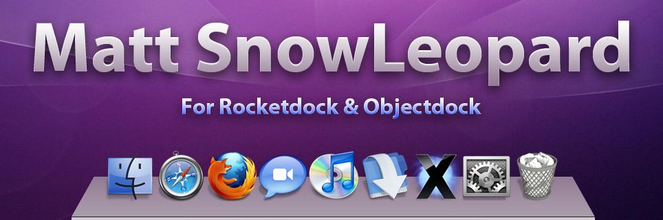 Matt SL rocketdock, objectdock by Lukeedee