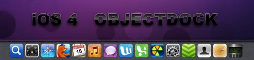 iOS 4 OBJECTDOCK by Lukeedee