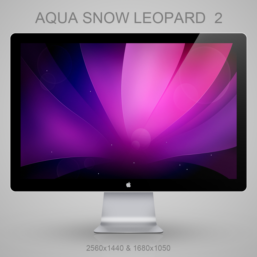 Aqua Snow Leopard v2 Alt by Lukeedee