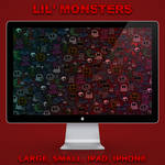 Lil' monsters wallpaper pack