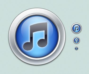Aqua iTunes by Lukeedee