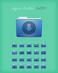 Aqua Pastel Dark by Lukeedee