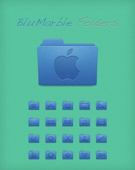 BluMarble Folders