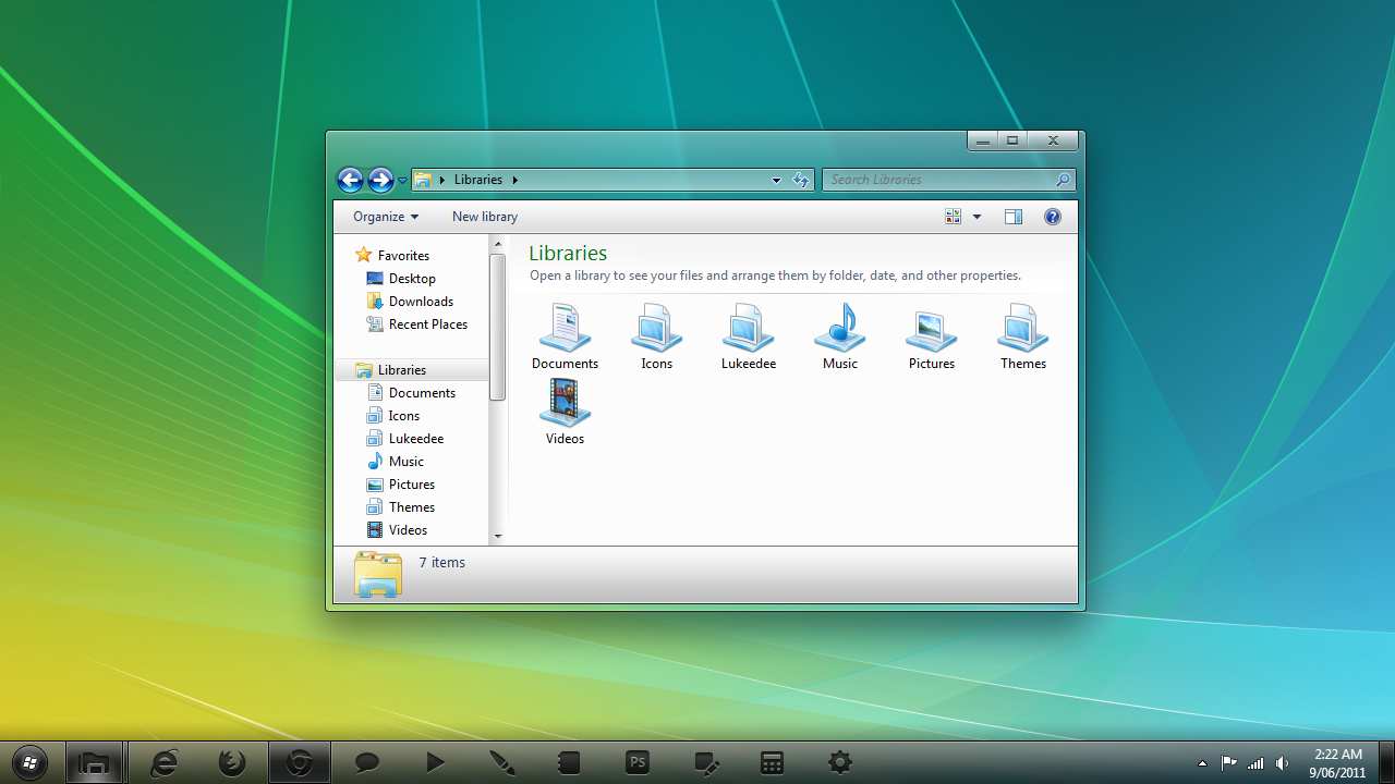 Vista-aero Theme - Download