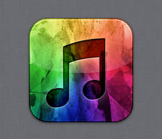 iTunes - Flurry style by Lukeedee