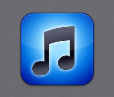 iTunes icon - Flurry style by Lukeedee