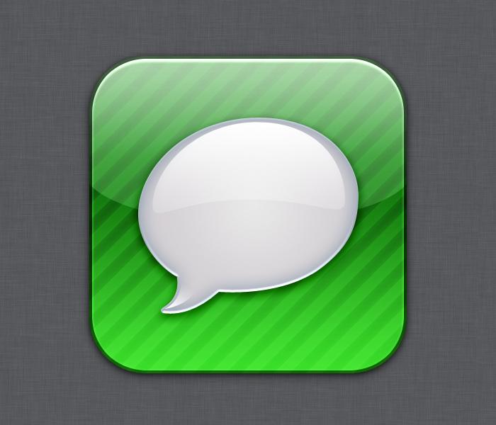Messenger icon - Flurry style