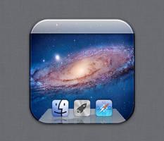 Lion Desktop icon - Flurry style by Lukeedee