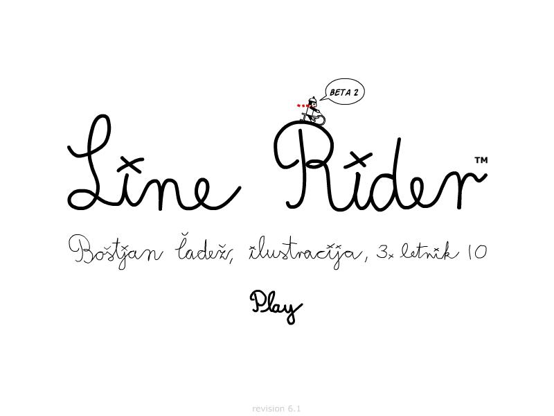 Line Rider - beta