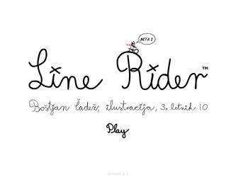 Line Rider - beta by fsk