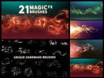 Magic FX Photoshop brushes Vol. 1