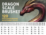 Dragon scale brushes