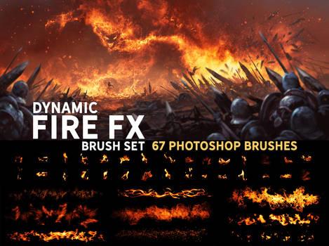 Dynamic Fire FX brush set