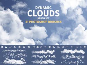 Dynamic Clouds Brush set
