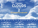 Dynamic Clouds Brush set 2