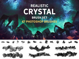 Realistic Crystal brush set