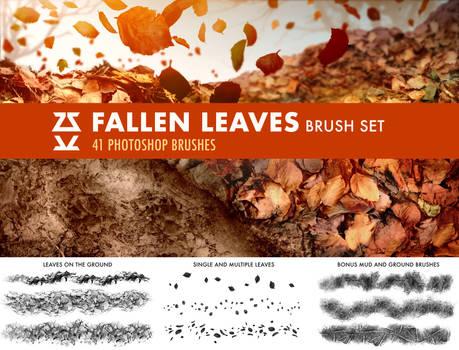 Fallen Leaves Brush Set