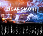 Cigar Smoke Procreate Brush Set