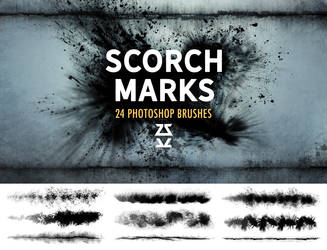 Scorch Marks Brush Set