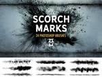 Scorch Marks Brush Set