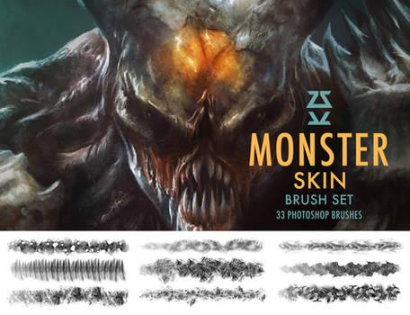 Monster Skin Brush Set
