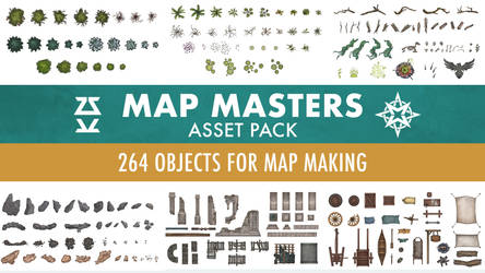 Map Masters 2D Assets