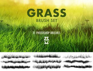 Grass 2 Brush Set