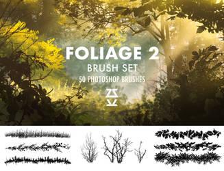 Foliage 2 Brush Set