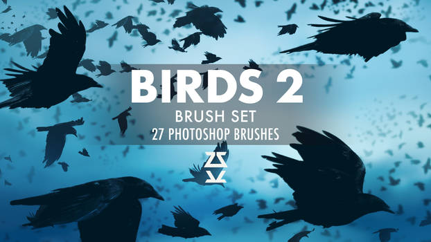 Birds 2 Brush Set