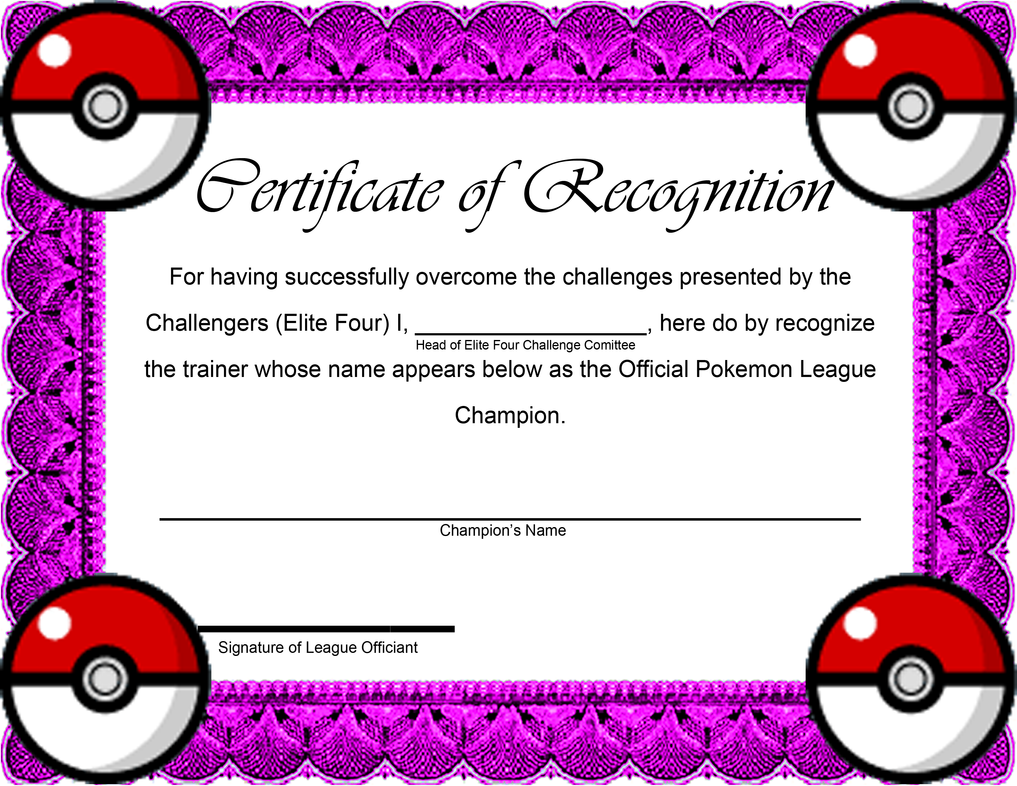 Pokemon league certificate by digitaleva on deviantart pokemon league certificate by digitaleva yadclub Image collections