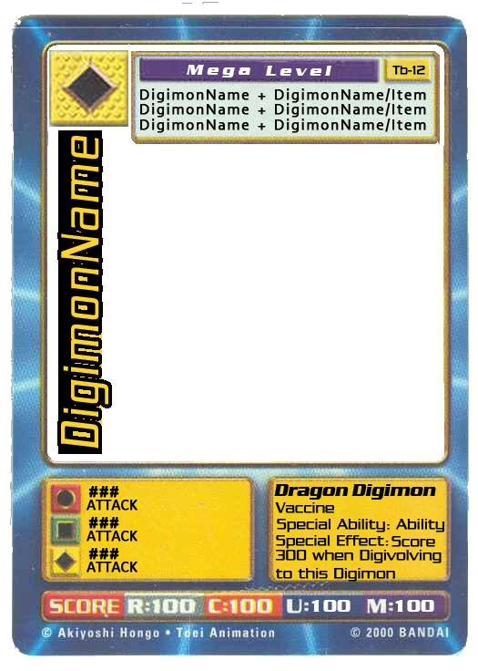 digimon digi battle ccg blank card psd by digitaleva on deviantart. Black Bedroom Furniture Sets. Home Design Ideas