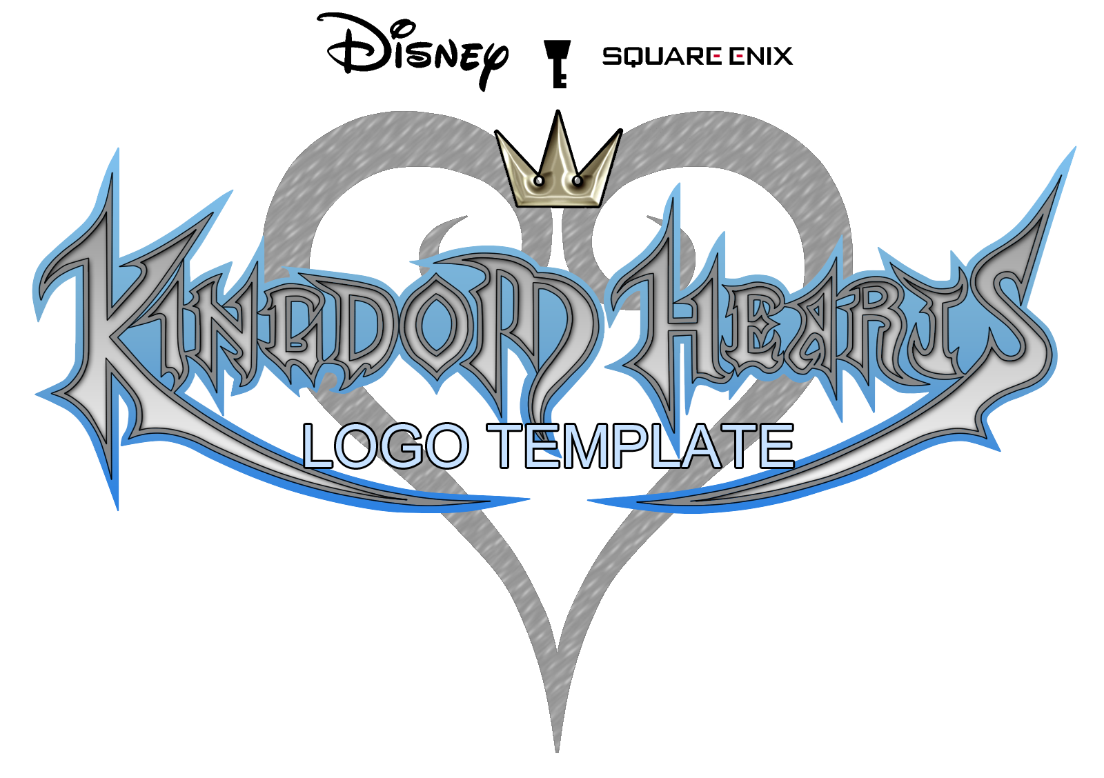 Kingdom Hearts Logo Template By Digitaleva On Deviantart Disney kingdom hearts sword pewter key ring $8.18. kingdom hearts logo template by