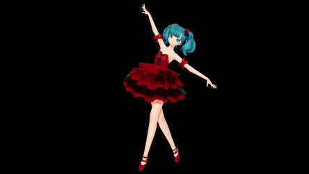 MMD - PDX Skeleton Orchestra And Lilia Miku + DL by Nala-Chan-07