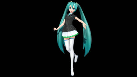 MMD - Special 560 watchers - PDF Family Mart Miku by Nala-Chan-07