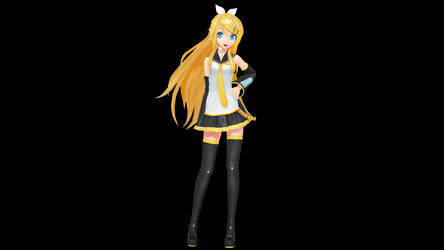 MMD - PDX Future Style Rin + DL by Nala-Chan-07