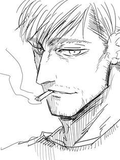 Existence (Erwin x Vampire!Reader AU) by irismatidia on