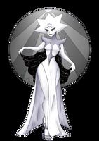 white diamond by NaNyBuX
