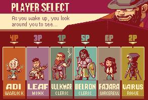 Player Select! by zeratanus