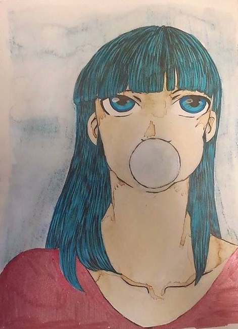 Bubblegum by toxic--sunrise