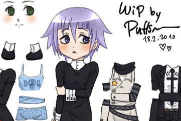 Crona dress up -flash test-