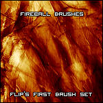 Flip's Fireball Brush Set by BS-Flip
